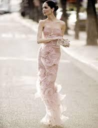 blush wedding dress trend my favorite bridal gown trend blush tones weddingapparel2015