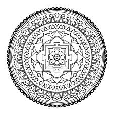 Buddhist Mandala Coloring Pages Phone Coloring Buddhist Mandala Buddhist Coloring Pages