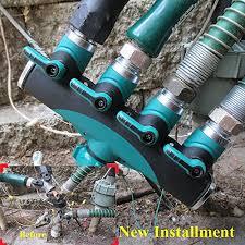 Faucet Splitter Toch 4 Way Garden Hose Splitter Heavy Duty Hose Connector Watering