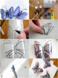 Diy Butterfly Decorations by There Are So Many Things That You Can Make From Plastic Bottles