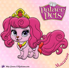 princess palace pets coloring page of macaron skgaleana