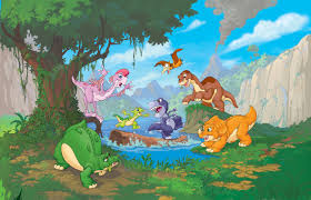 neither high nor low the land before time