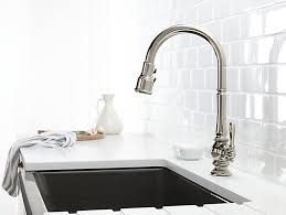 kohler kitchen faucet installation k 99259 artifacts pull kitchen sink faucet kohler