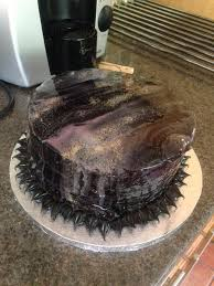homemade galaxy mirror glaze cake rebrn com