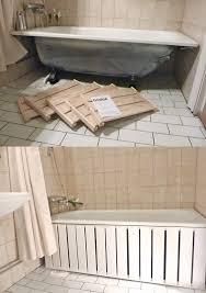 Bad Ablage Badewanne Einmauern Mit Ablage 35 Ideen Und Anleitung