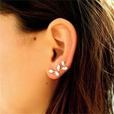 ear cuff earrings fabulous drop ear cuff earrings amorium jewelry