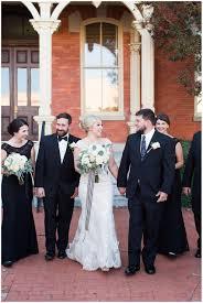 and white halloween wedding charlotte wedding samantha laffoon