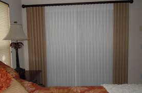 Sliding Drapes Door Patio Door Curtains And Blinds Ideas Stunning Sliding Glass