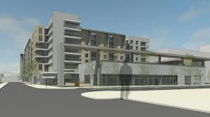 canton crossing apartment complex next to target gets design