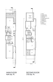 narrow lot floor plans narrow lot house portland oregon