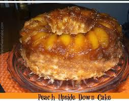 foodthoughtsofachefwannabe peach upside down bundt cake
