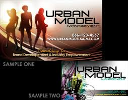 Credit Card Business Cards Designs Business Cards Urban Model Mgt