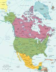 South And North America Map by America Continent Map At Of South And North Roundtripticket Me