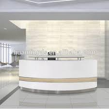 White Reception Desk Modern White Reception Desk Office Furniture Office Counter Design