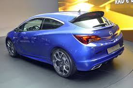 vauxhall astra vxr modified opel astra opc with 276hp storms the 2012 geneva motor show