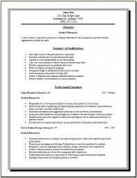 internship resume objective examples pharmacy intern