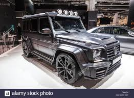 mansory mercedes mansory mercedes benz g class at the iaa 2015 stock photo royalty