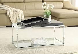 amazon com convenience concepts palm beach coffee table black