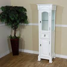 Tall White Linen Cabinet Design Element Cab004 W London 65 In Linen Cabinet Hayneedle