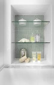 Glass Shelves For Bathroom Wall Marvelous Bathroom Endearing 30 Contemporary Glass Shelf