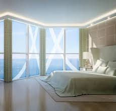 inspiring bedroom curtains with simplistic models for large