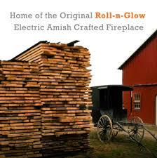 Amish Electric Fireplace Heat Surge Scheid U0027s Enterprises Of Middlefield