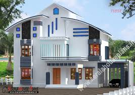 double floor house elevation photos 2150 sqft beautiful double floor house kerala house plans