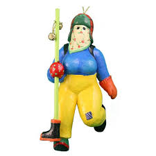 tillie from twillingate collectible mummer ornament historic