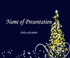 animated christmas powerpoint card with music