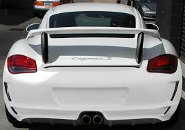porsche widebody rear nr cayman 987 1 u0026 987 2 gt3 body kit