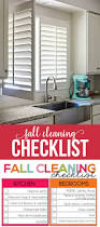 how to clean the kitchen cabinets how to clean shutters fall cleaning list