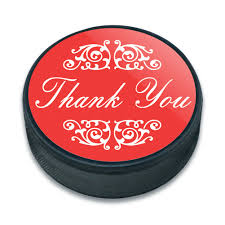 halloween buttons ice hockey puck thank you gratitude ebay