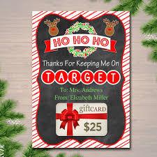 printable christmas targets editable christmas target gift card holder printable teacher