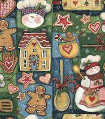 holiday inspirations fabric susan winget christmas cupcakes