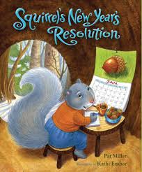 new year book for kids squirrel s new year s resolution albert whitman company