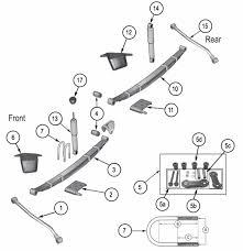 jeep jk suspension diagram 10 best jeep suspension parts images on pinterest crossbow leaf