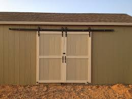 Diy Bypass Barn Door Hardware by Build Your Exterior Barn Doors With Sliding