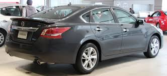 nissan altima sv 2013 file nissan altima 2 5sv rear jpg wikimedia commons