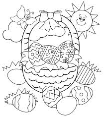 293 spring u0026 easter coloring pages images