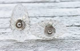 Shabby Chic Hardware by Shabby Chic Clear Glass Knobs Dresser Drawer Knobs Pulls
