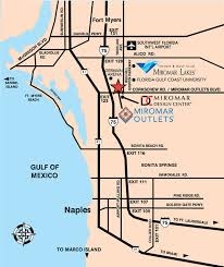 map of estero florida shopping in naples fort myers estero fl miromar outlets