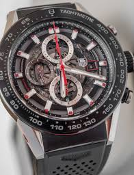 tag heuer carrera tag heuer carrera heuer 01 watch review ablogtowatch