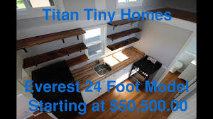 Tennessee Tiny Homes For Sale by Tiny Houses For Sale Walk Through 24 Foot Titan Tiny Homes