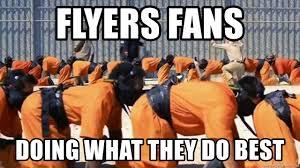 Flyers Meme - flyers fans doing what they do best flyers fan meme generator