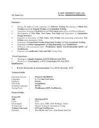 Qa Resume Examples by Software Testing Resume Samples For Experienced Free Resume