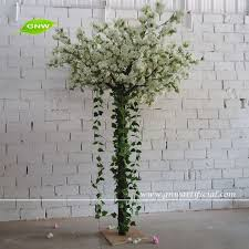 gnw 8ft white artificial trees cherry blossoms for sale with silk
