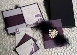 Purple And Silver Wedding Invitations Wedding Invitations U0026 Stationery Invitation Ideas