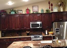 Top Kitchen Cabinet Decorating Ideas Above Kitchen Cabinet Ideas Cabinetdirectories Com