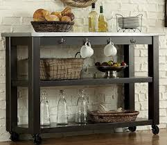 kitchen servers furniture liberty furniture keaton ii kitchen serving table on casters