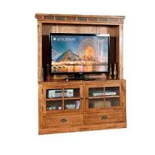 sunny designs oak tv stand and hutch sedona rc willey